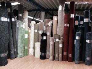 stuvbit av plastmattor, textilmattor, heltäckningsmattor, våtrumsgolv, linoleum
